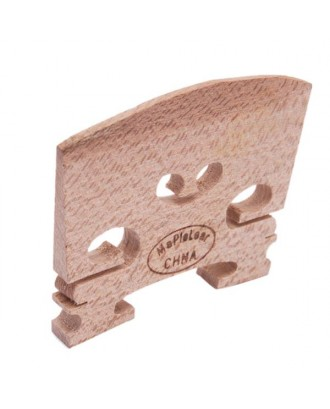 4/4 High Quality Maple Violin Bridge Wood-colored