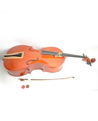 4/4 Retro Style Cello   Case   Bow   Rosin