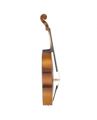 4/4 Acoustic Cello   Case   Bow   Rosin Wood Color